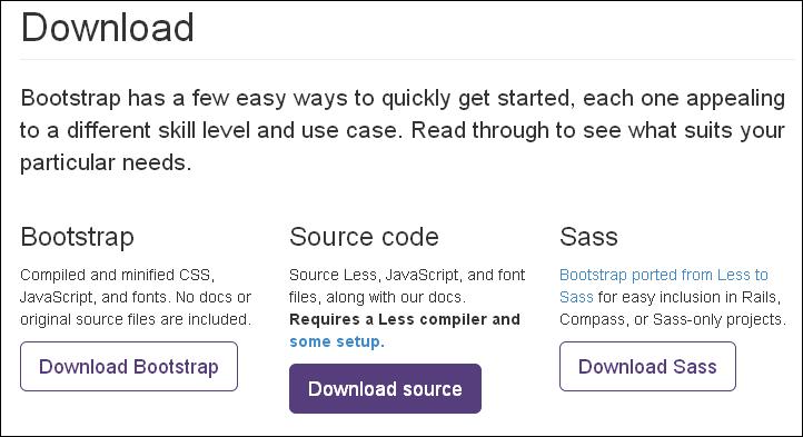 使用 Bootstrap 和 HTML5 Boilerplate 开始一个项目